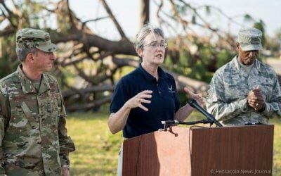Interview – AFAS Donations Have Helped Airmen Displaced By Hurricane Michael