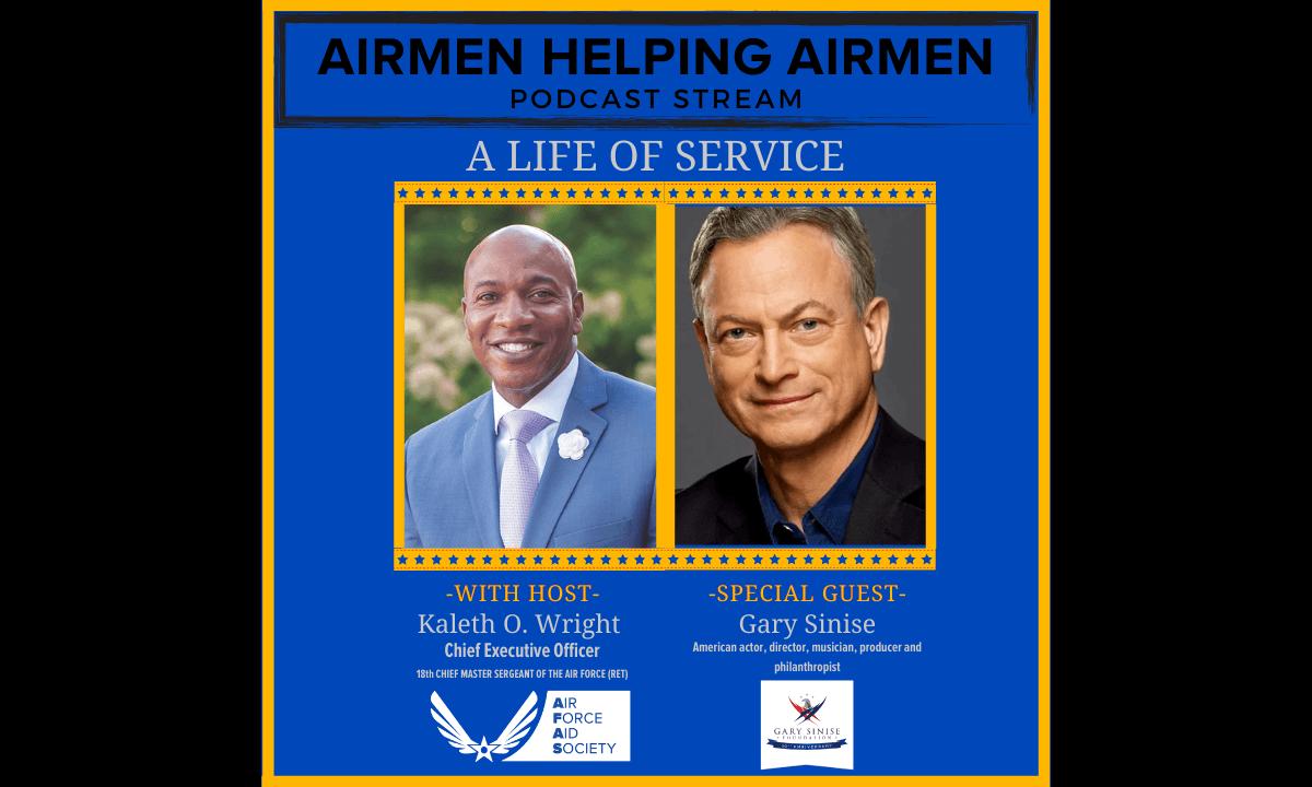 Airmen helping Airmen